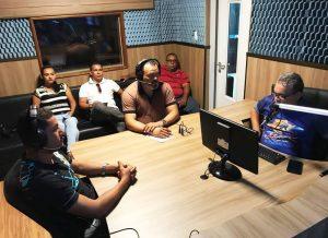 Valdevan Noventa concede entrevista à Xodó FM