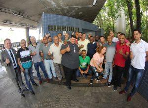 Sindicato fiscaliza liberação dos banheiros para os operadores
