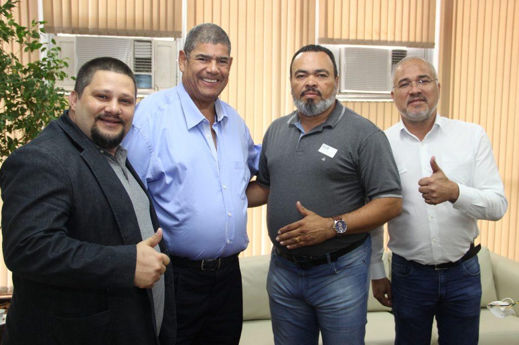 Valdevan Noventa se reúne com presidente da Câmara Municipal de São Paulo para debater a Licitação dos Transportes
