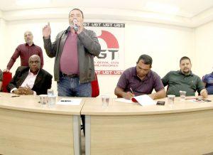 Presidente Valdevan Noventa realiza encontro com diretores do Sindicato e a militância