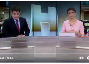 TV GLOBO / Jornal Hoje: Valdevan Noventa repudia extinção dos cobradores nos ônibus