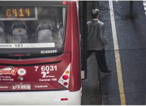 JORNAL FOLHA DE SP: Presidente Valdevan Noventa reclama de problemas no sistema de ônibus na cidade de São Paulo