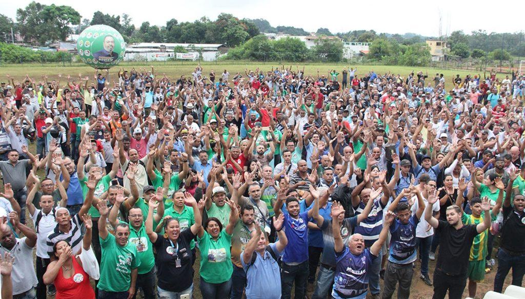 Participação dos trabalhadores das zonas Sul e Sudeste marca segunda assembleia da Campanha Salarial