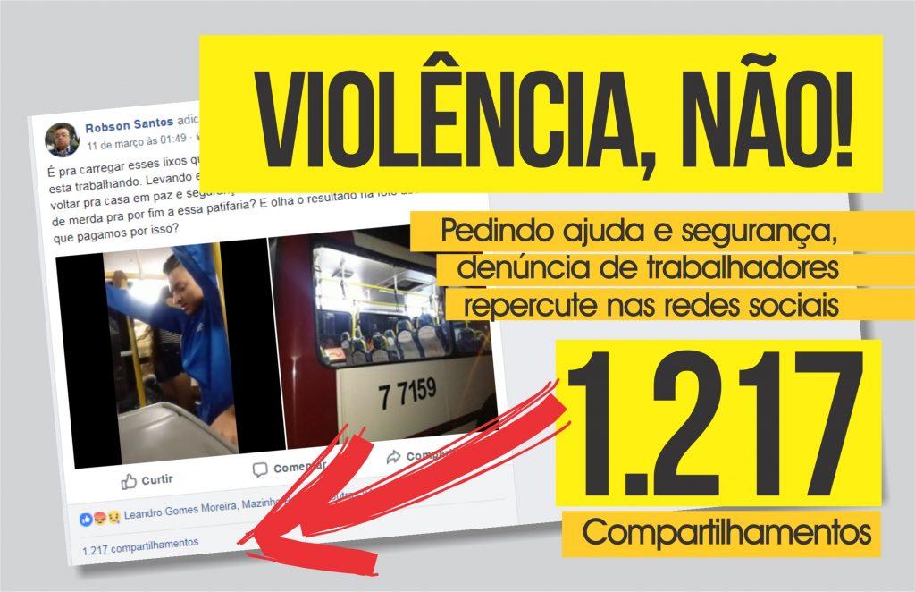 """""""Motoristas e cobradores merecem respeito e segurança"""", diz Valdevan Noventa"""