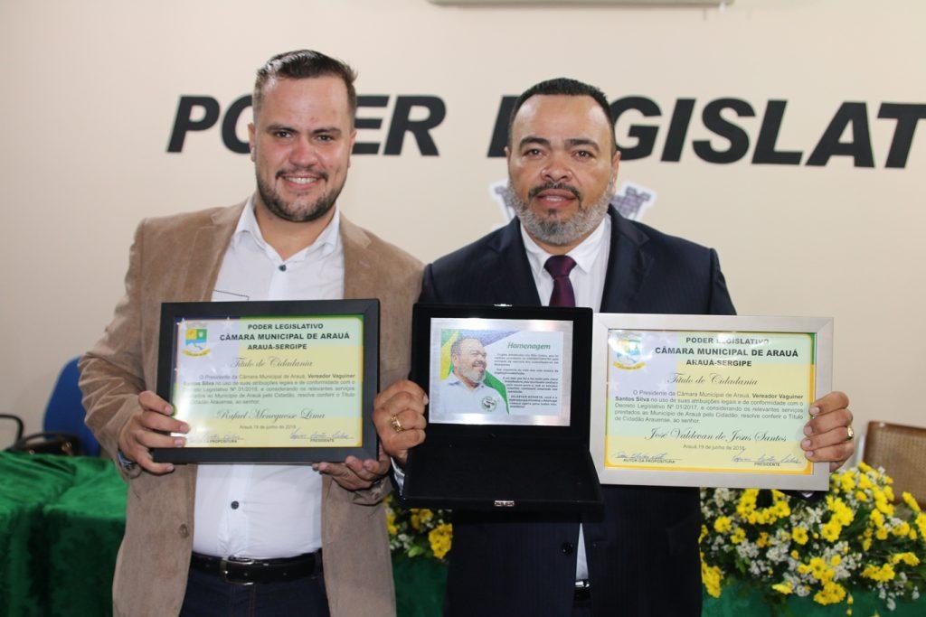 Valdevan Noventa recebe Título de Cidadão Arauense