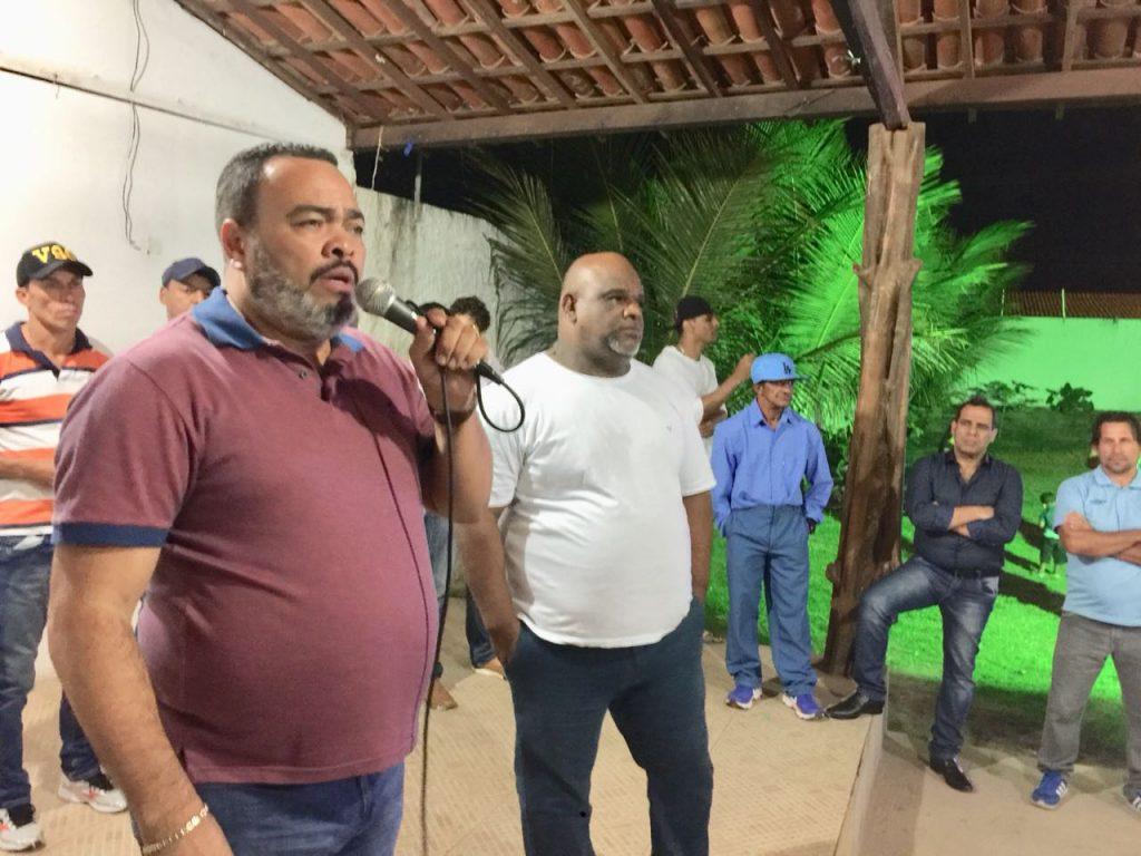 Valdevan Noventa participa de encontro de esportistas, em Cristinápolis