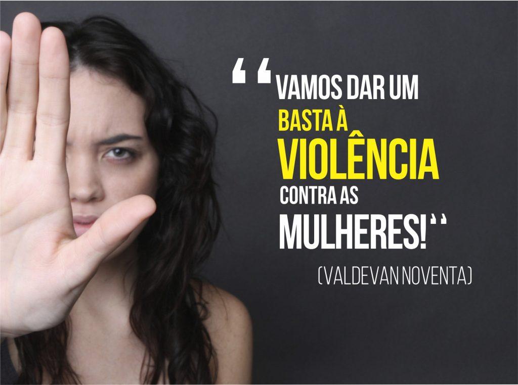 Valdevan Noventa combaterá violência contra as mulheres no Congresso Nacional