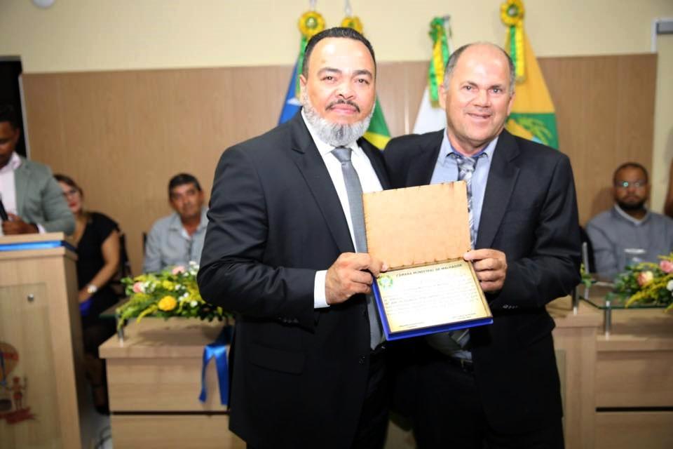 Valdevan Noventa recebe título de cidadão malhadorense
