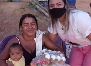 Famílias em situação de vulnerabilidade recebem apoio na pandemia
