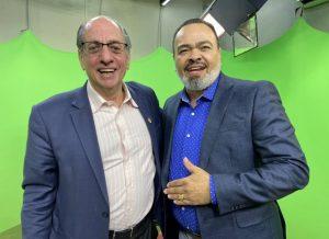 """Valdevan Noventa participa do programa """"Ideias em Debate"""""""