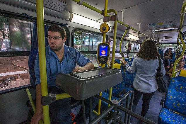 """FOLHA DE SÃO PAULO: Presidente Valdevan Noventa afirma: """"lugar de cobrador é dentro do ônibus"""""""
