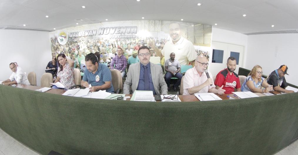 Comissão de Negociação se prepara no sindicato
