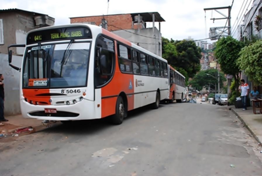 Pancadão do Paraisópolis coloca em risco a segurança de motoristas e cobradores