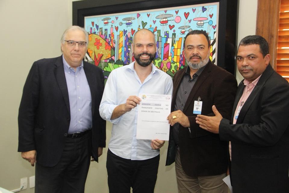 Prefeito e Presidente da Câmara de São Paulo apoiam Valdevan Noventa