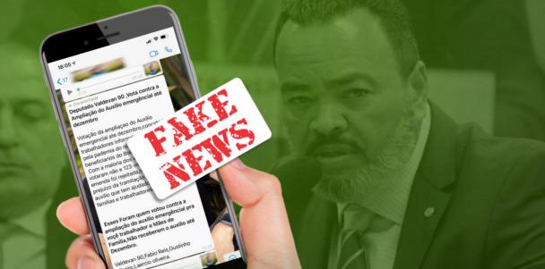 """Valdevan Noventa desmente fakenews sobre votação do """"Auxílio Emergencial"""""""