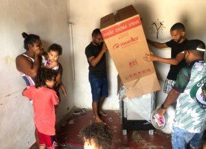 Ações sociais promovidas por Valdevan Noventa levam conforto às famílias sergipanas